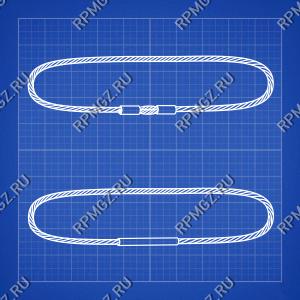 Канатный строп УСК2 кольцевой