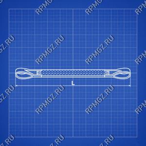 Строп текстильный двухпетлевой СТП